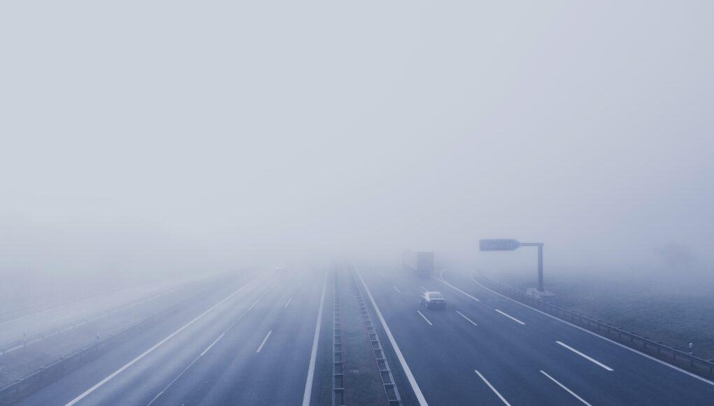 jazda we mgle